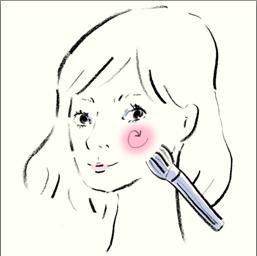 菅野美穂さん風は「丸み」を意識