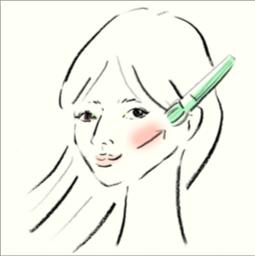 井川遥さん風は「頬骨」を意識