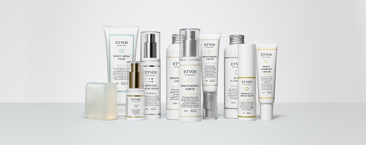 ETVOSの敏感肌向けスキンケア